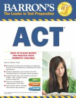 Crash Course for the ACT