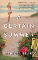 A certain summer : a novel
