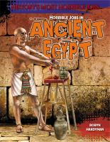 Horrible jobs in ancient Egypt