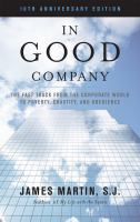 In good company : the fast track from the corporate world to poverty, chastity, and obedience