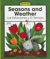 Seasons and weather =  Las estaciones y el tiempo