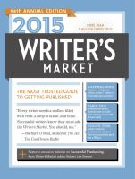 Writer's Market 2015: The Most Trusted Guide to Getting Published (Ninety-Fourth)