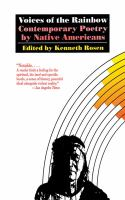Voices of the rainbow : contemporary poetry by American Indians