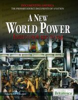 A new world power : America from 1920 to 1945