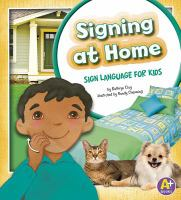 Signing at home : sign language for kids