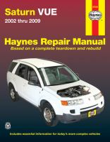 Haynes Repair Manual Saturn Vue : 2002 Thru 2009