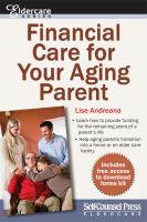 Financial care for your aging parents