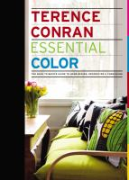 Essential color : the back to basics guide to home design, decoration & furnishing