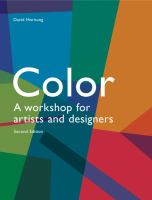 Color : a workshop for artists and designers