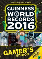 Guinness world records gamer's edition.