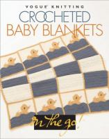 Crocheted baby blankets.