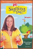 Signing time vol 2: playtime signs