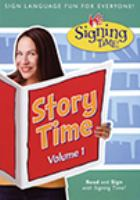 Signing time: story time vol. 1