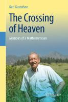The crossing of heaven : memoirs of a mathematician
