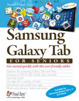 Samsung Galaxy Tab for seniors : get started quickly with this user friendly tablet.