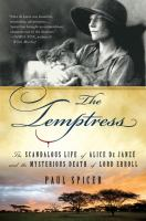 Book Title Image - The temptress : the scandalous life of Alice de Janzé and the mysterious death of Lord Erroll