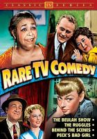 Rare Tv Comedy (DVD)