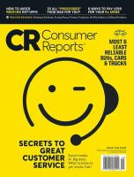Consumer Reports (Alcona 2017)