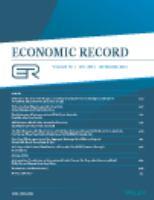 The Economic Record