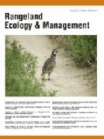 Rangeland Ecology & Management