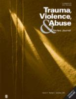 Trauma, Violence & Abuse