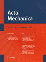 Acta Mechanica