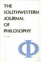 The Southwestern Journal of Philosophy