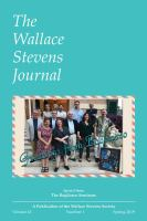 The Wallace Stevens Journal