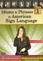 Idioms & Phrases in American Sign Language