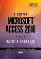Discover Microsoft Access 2016