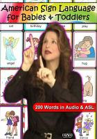American Sign Language for Babies and Toddlers (Cover art)