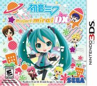 Hatsune Miku [electronic resource (Nintendo 3DS)] : Project Mirai DX.