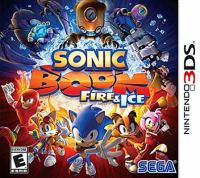 Sonic boom: fire & ice [interactive multimedia (video game for Nintendo 3DS)].