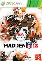 Madden NFL 12 [interactive multimedia (video game for Xbox 360)]
