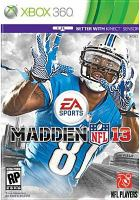 Madden NFL 13 [interactive multimedia (video game for Xbox 360)].
