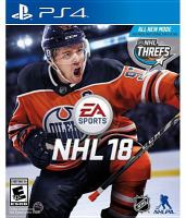 NHL 18 [electronic resource (video game for PS4)].