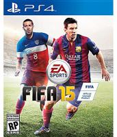 FIFA15 [interactive multimedia (video game for PS4)].