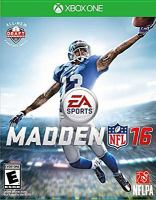 Madden NFL 16 [interactive multimedia (video game for Xbox One)]