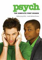 Psych : [videorecording (DVD)] the complete first season