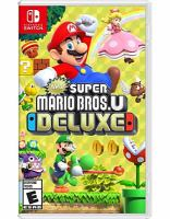 New Super Mario Bros. U deluxe [electronic resource (video game for Nintendo Switch)].