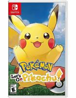 Pokémon. Let's go Pikachu! [electronic resource (video game for Nintendo Switch)].