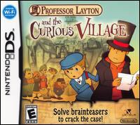 Professor Layton and the curious village [interactive multimedia (video game for Nintendo DS)].