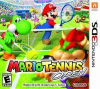 Mario tennis open [interactive multimedia (video game for Nintendo 3DS)].