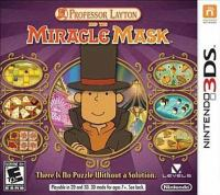 Professor Layton and the miracle mask [interactive multimedia (video game for Nintendo DS)].
