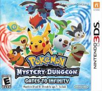 Pokémon mystery dungeon. Gates to infinity [interactive multimedia (video game for Nintendo 3DS)].