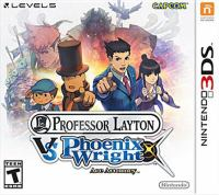 Professor Layton vs Phoenix Wright, ace attorney [interactive multimedia (video game for Nintendo 3DS)].
