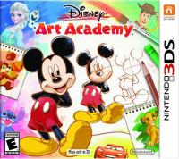 Disney art academy [interactive multimedia (video game for Nintendo 3DS)]