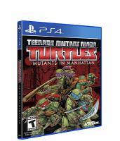 Teenage Mutant Ninja Turtles [interactive multimedia (video game for PS4)] Mutants in Manhattan.