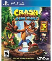 Crash Bandicoot N. sane trilogy [electronic resource (video game for PS4)]