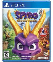 Spyro. Reignited trilogy [electronic resource (video game for PS4)].